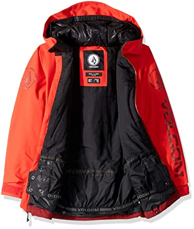 9161be133 Amazon.com  Volcom Big Boys  Holbeck Insulated 2 Layer Shell Snow ...