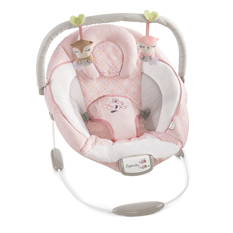 4eb7c715acc1 Amazon.com   Ingenuity Cradling Audrey Bouncer   Baby