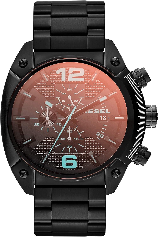 Diesel Reloj de Cuarzo cronógrafo de Acero Inoxidable para Hombre