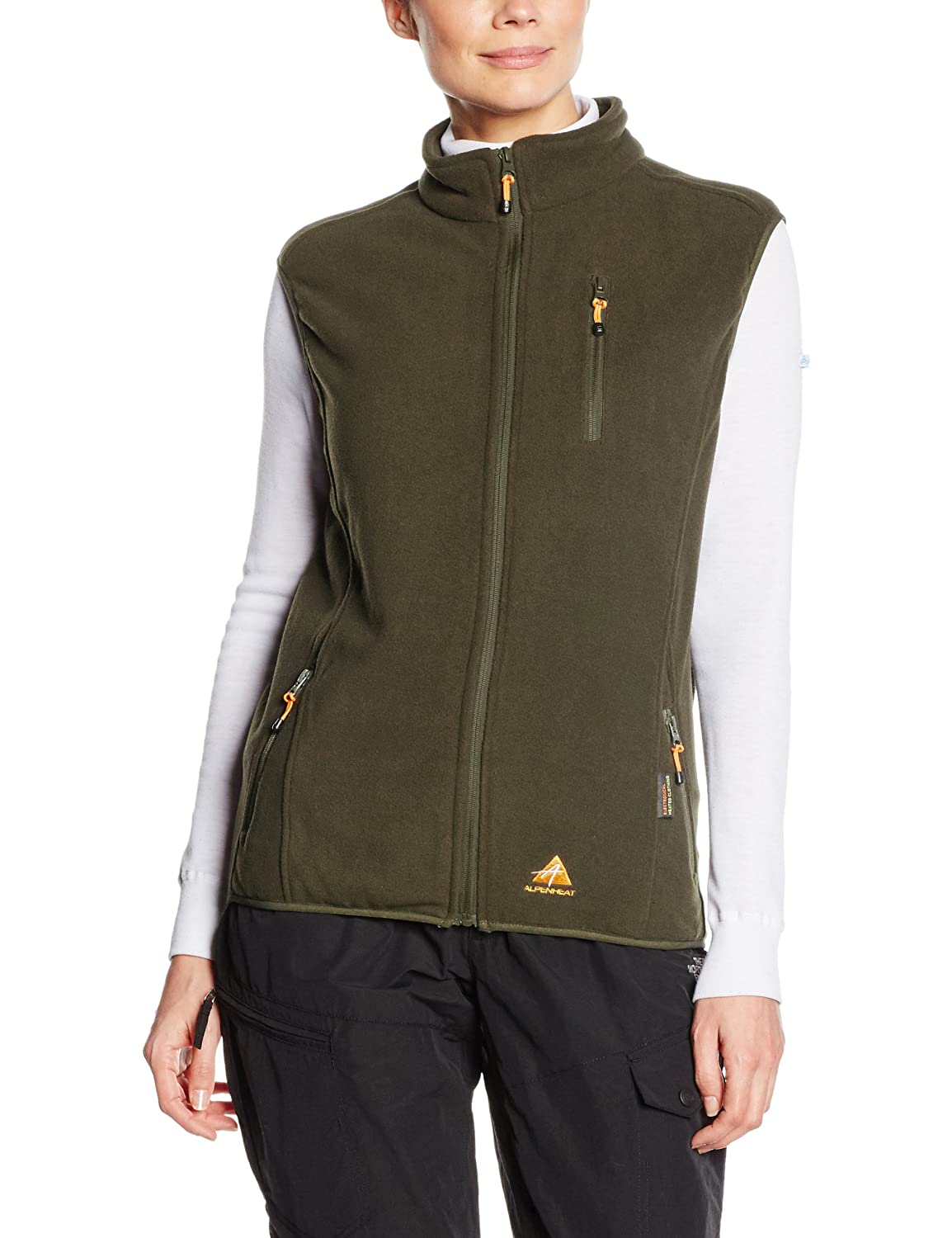 Alpenheat Firevest Heated Vest Fleece Mixte KQQ21|#Alpenheat
