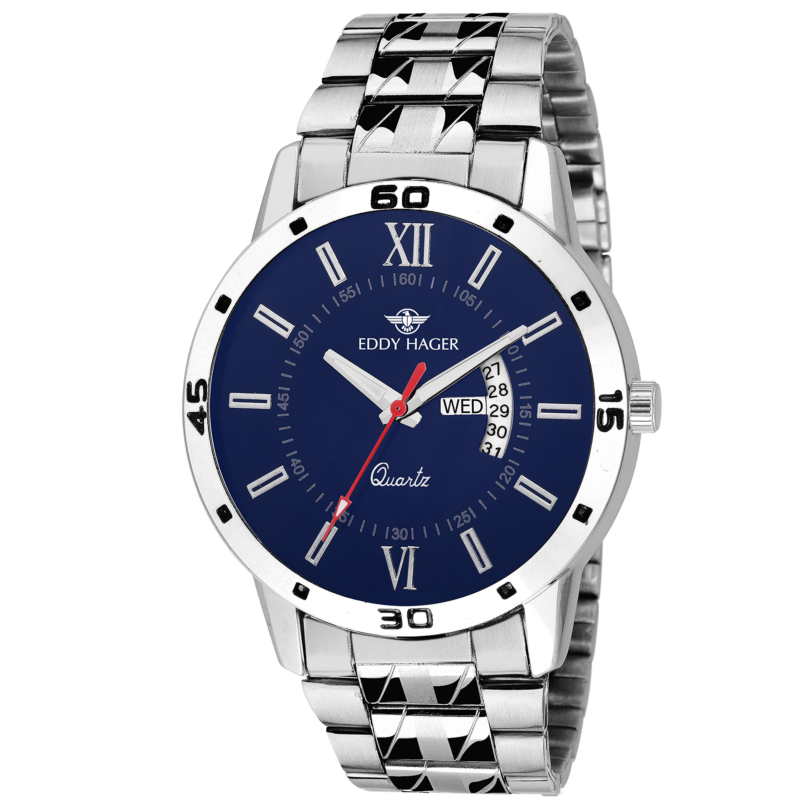 Eddy Hager Day and Date Men's Watch product image