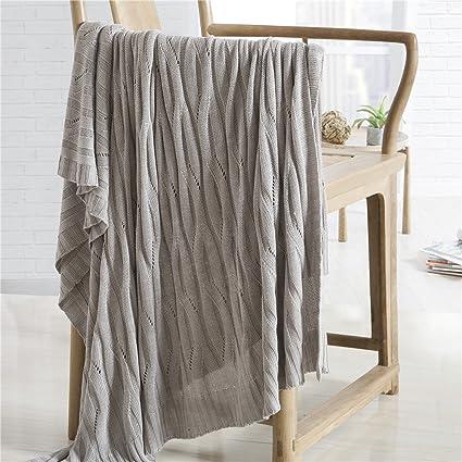 highbuy cama mantas, colcha, manta de fibra de bambú, algodón suave manta de