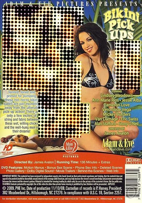 Bikini Pick Ups Amazon Co Uk Veronique Vega Lindsey Meadows Ann Marie Rios Jessie Alba Cameron Love James Avalon Dvd Blu Ray