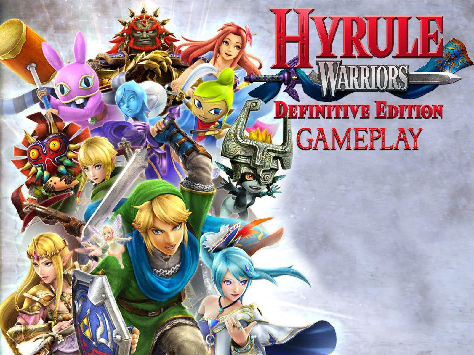 hyrule warriors definitive edition walkthrough part 1