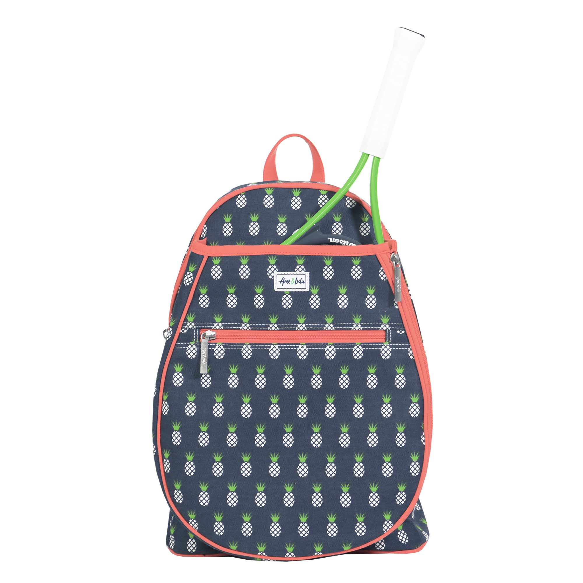 Ame and Lulu Pineapple Tennis Backpack