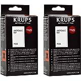 Krups Anticalc Kit F054 Entkalker, 2er Pack