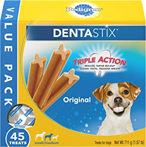 Pedigree DENTASTIX Treats for Small/Medium dogs, 15-40 lbs.