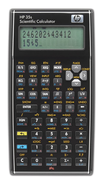 Hewlett Packard Hp35s Scientific Calculator Amazon Office
