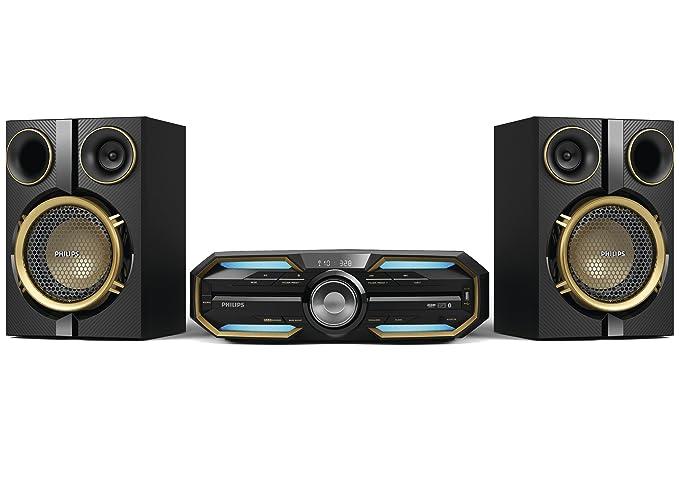 63 opinioni per Philips FX25 Mini Sistema Hi-Fi con Bluetooth e NFC, Illuminazione LED, MAX