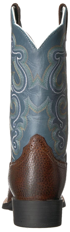 Ariat Women's Quickdraw B002NU0TXI Rowdy/Sapphire 6 B(M) US|Brown Oiled Rowdy/Sapphire B002NU0TXI Blue 47565f