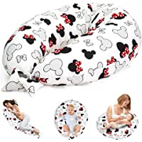 Cojín de lactancia para dormir de lado – Cojín de apoyo para bebé XXL Pregnancy Pillow…