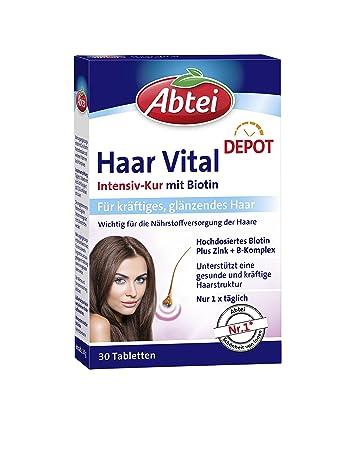 Abtei Haar Vital Intensiv Kur 1er Pack Amazonde Drogerie