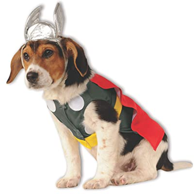Rubie's Marvel Universe Thor Pet Costume, Extra-Large: Toys & Games