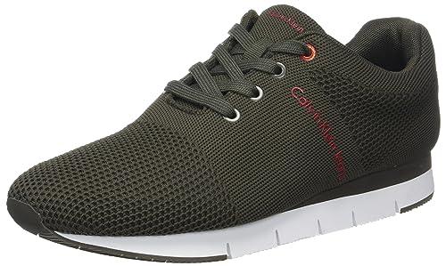 Jado Mesh, Zapatillas para Hombre, Negro (CRO 000), 43 EU Calvin Klein Jeans