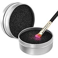 Luxspire Limpiador de Pinceles Maquillaje, Caja de Esponja para quitar residuos de polvos cosméticos sin Agua, Removedor…