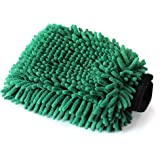 Maxshine Green Crazy Micro-Chenille Wash Mitt- for Washing The Body Work Wheels Wheel Wells Tires and Grill.
