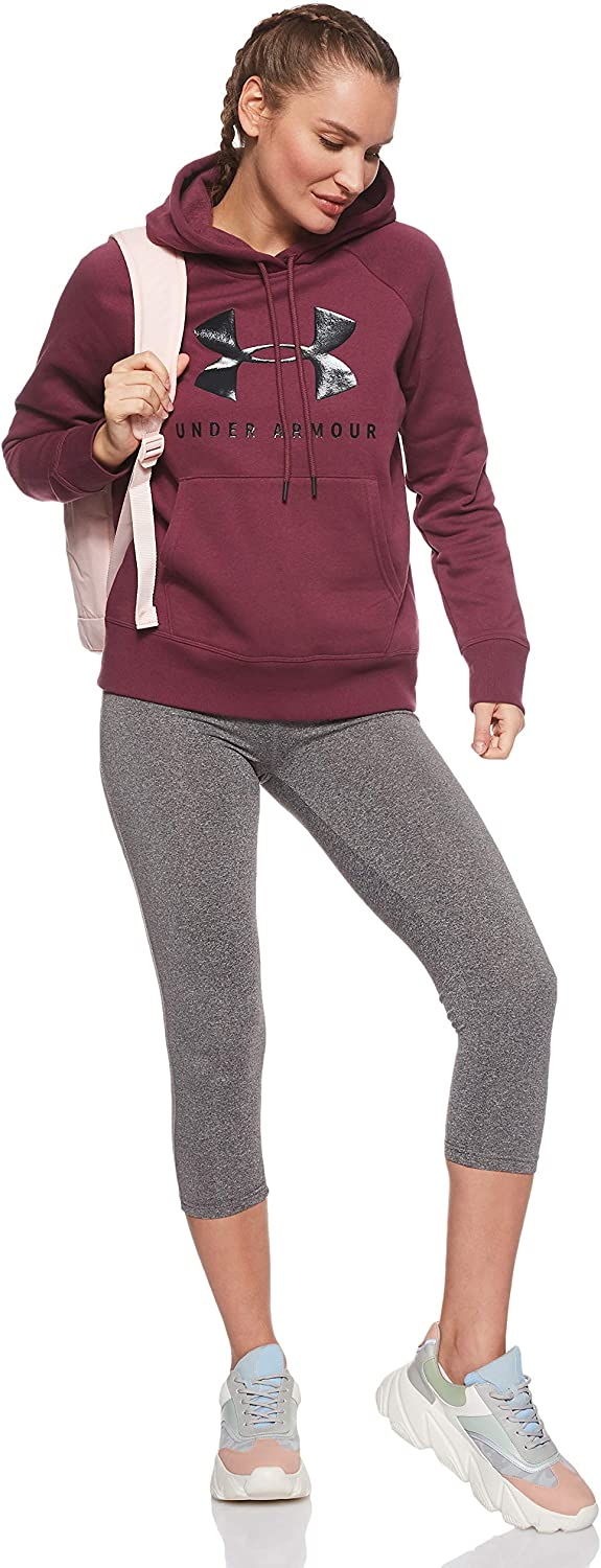 Under Armour Damen Rival Fleece Sportstyle Graphic Hoodie Oberteil