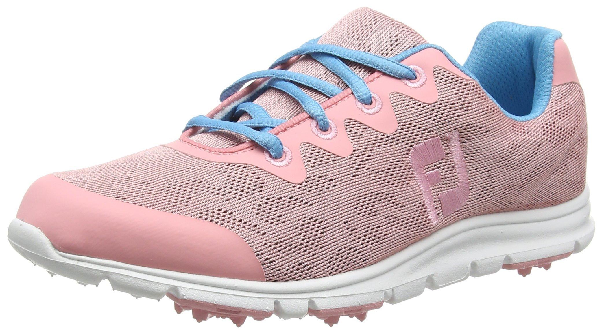 FootJoy Enjoy Spikeless Golf Shoes CLOSEOUT Womens Pink Rose Medium 8.5