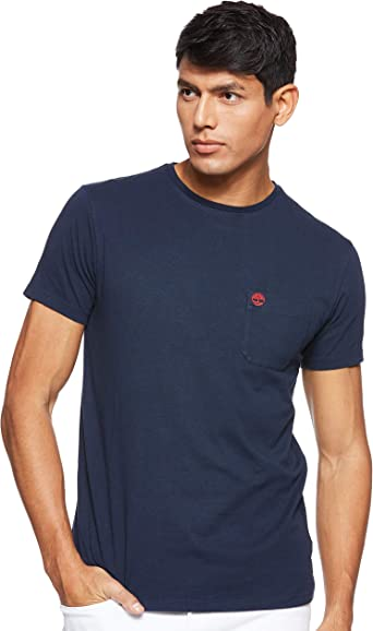 Timberland SS Dunstan River Pocket Slim tee Camiseta para Hombre: Amazon.es: Ropa y accesorios