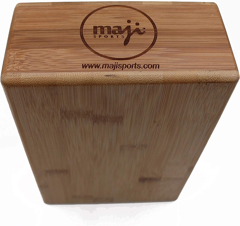 Maji Sports Bamboo Yoga//Pilates Block