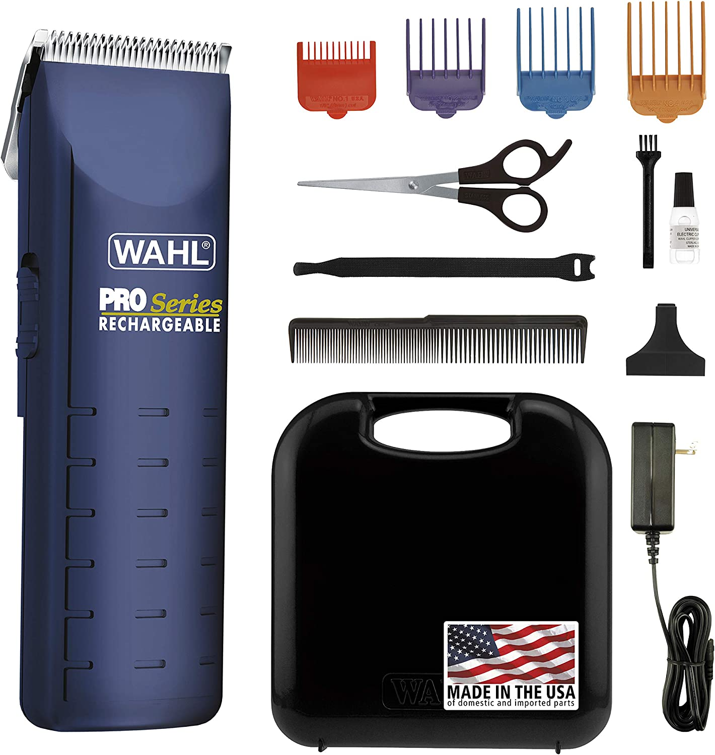 Wahl Home Pet Pro-Series Complete Pet Clipper Kit, for Pet Grooming, Trimming, and Touchups, Works Best on Fine to Medium Coated Dogs and Cats, or for...