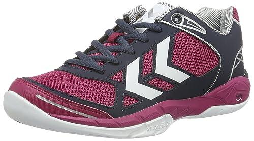 Omnicourt Z4 WS, Zapatillas Deportivas para Interior para Mujer, Rosa (Sangria), 37.5 EU Hummel