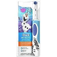 Oral-B欧乐-B冰雪奇缘充电式电动儿童牙刷(含2个替代刷头,6岁以上儿童使用)