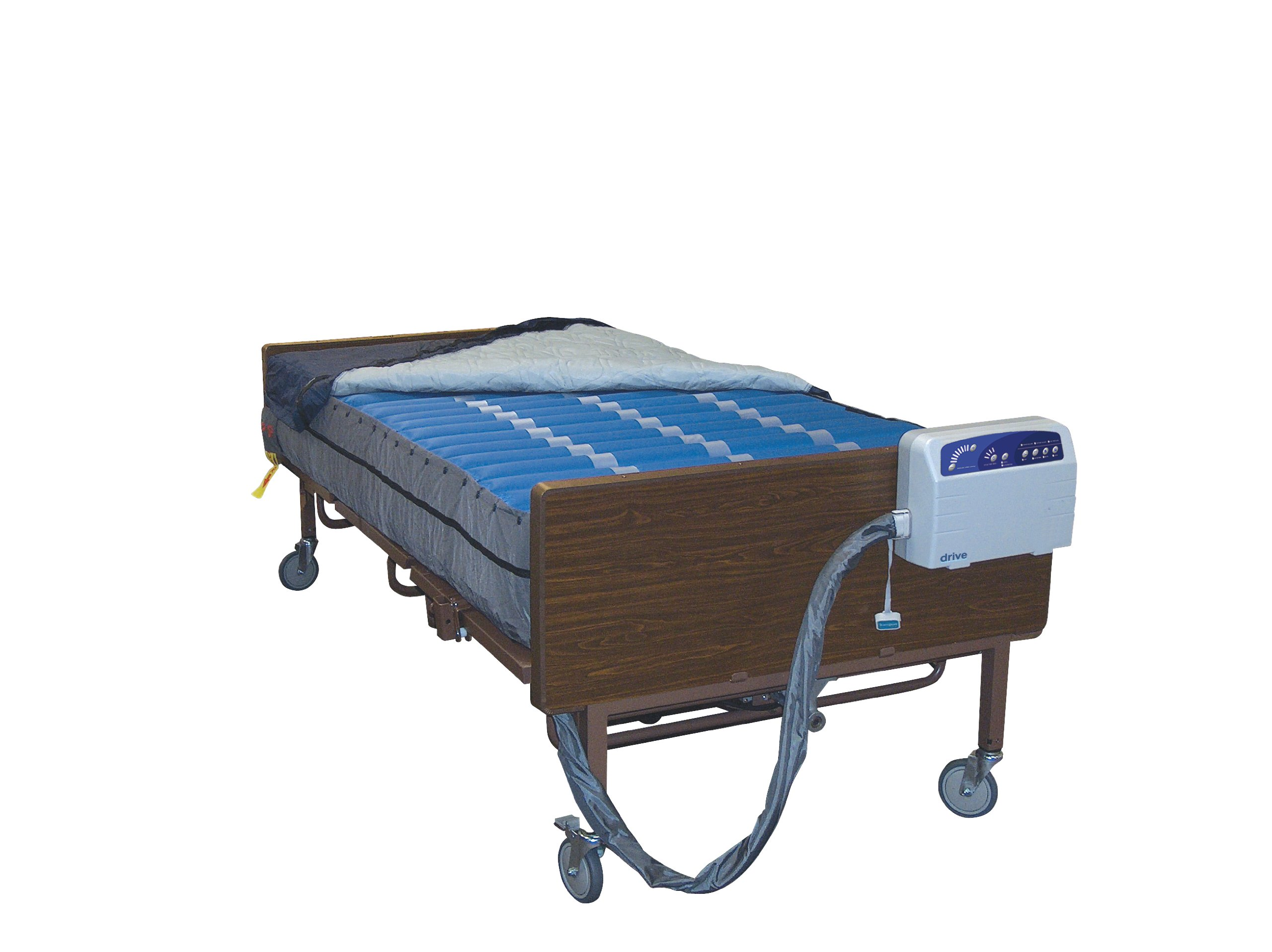 Drive Medical Med Aire Plus Bariatric Low Air Loss Mattress Replacement System, 80'' x 42''