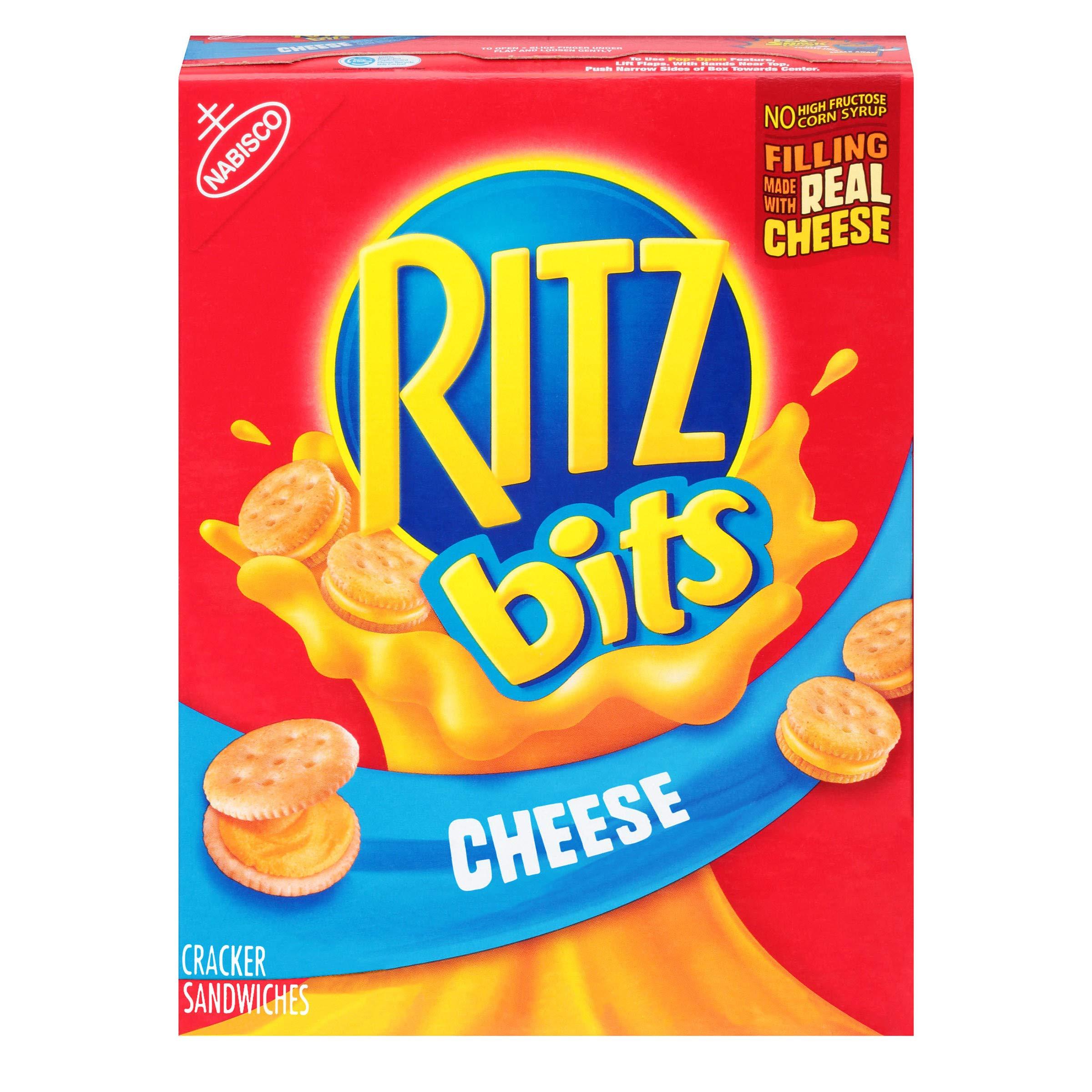 RITZ Bits Cheese Sandwich Crackers, 8.8 oz