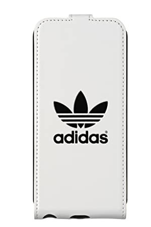 4143bcaa8c Adidas Flip Case for Apple iPhone 5 5S - White Black  Amazon.co.uk ...