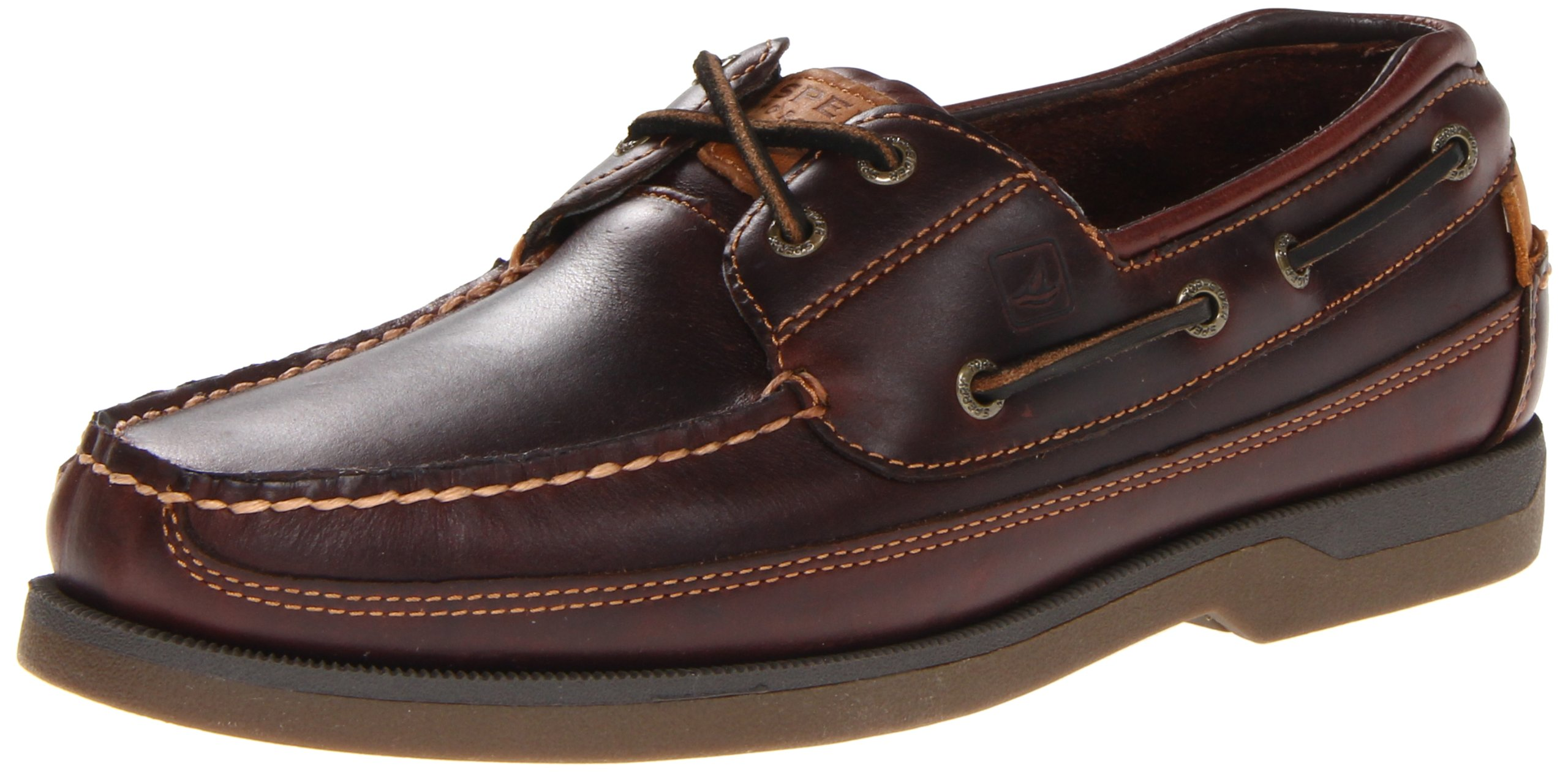 Sperry Top-Sider Men's Mako 2-Eye Canoe Moc Lace-Up, Amaretto 11 W US by Sperry Top-Sider
