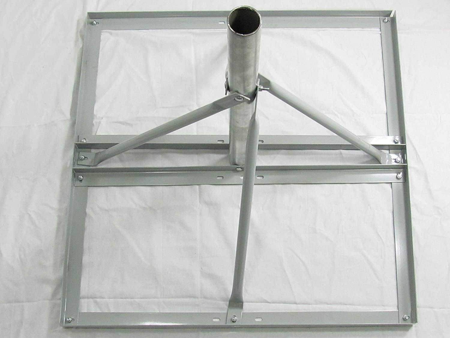 NPR-A3 Non-Penetrating Roof Mount with 2 3//8 OD and 2 OD Flip Mast