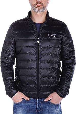 Emporio Armani EA7 Ultra-Light Down Black Jacket 3XL Black