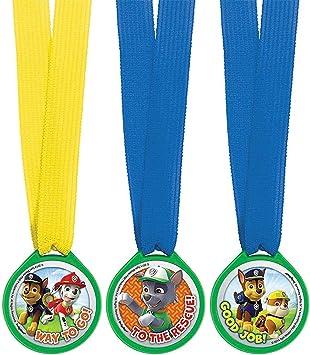Amazon.com: Amscan - Medallas de cumpleaños para huella ...