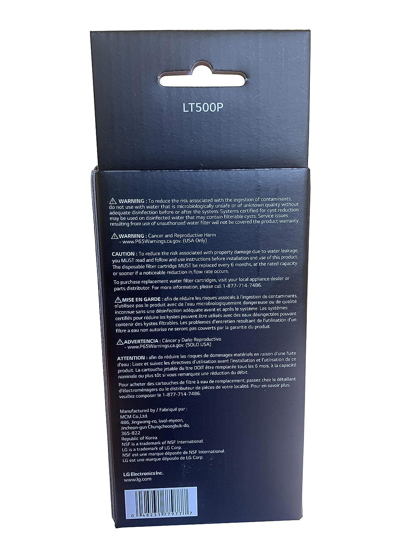 Filtro de origen LG - 5231JA2002A / LT500P: Amazon.es: Industria ...