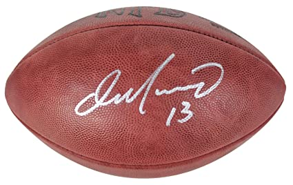 3d3cd3fcdb7 Image Unavailable. Image not available for. Color  Dan Marino Signed  Football - Fanatics COA - Fanatics Authentic Certified - Autographed  Footballs