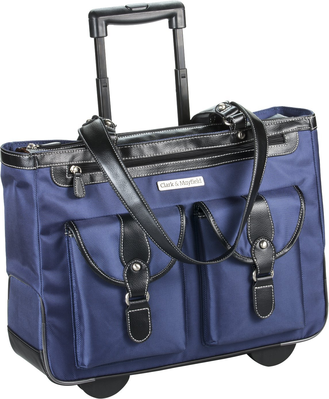"Amazon.com: Marquam Rolling Laptop Tote 18.4"" (Navy Blue): Computers &  Accessories"