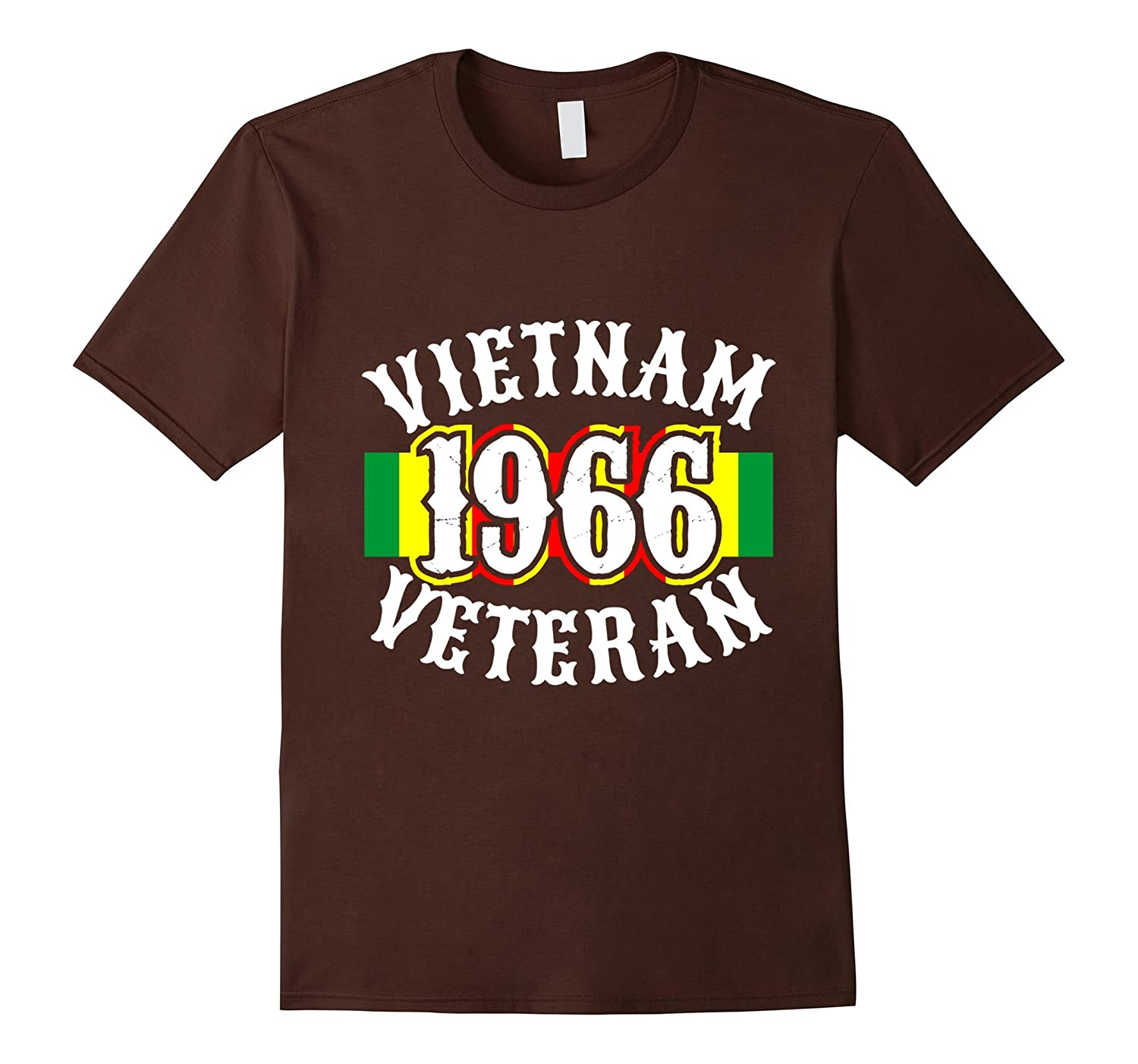 Mens Vietnam 1966 Veterans Tshirt for War Vets and Heroes-FL