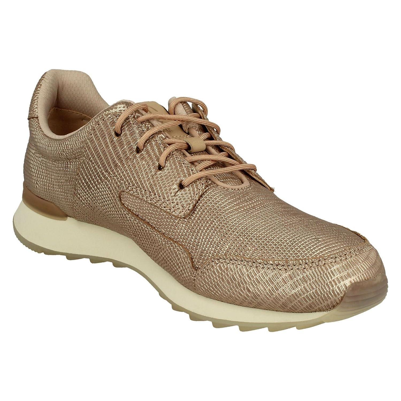 Clarks Damen Floura Mix Sneaker Sneaker Mix Pink 5a70c5