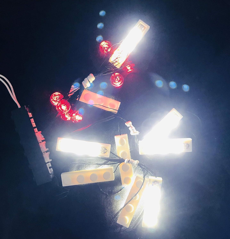 brickled Light Kit for Lego Marvel Avengers Iron Man 76125 Model Set not Included
