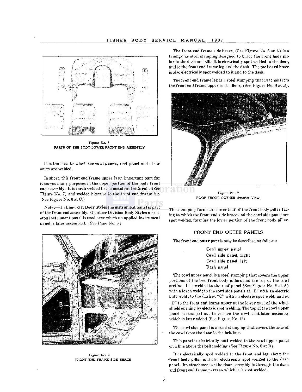 1937 1938 Pontiac Shop Service Repair Body Manual Cd Fire Engine Drivetrain Diagram Electrical Automotive