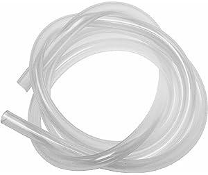 Tubo de silicona de 1 metro, 6 x 9 mm, diámetro interior de 6