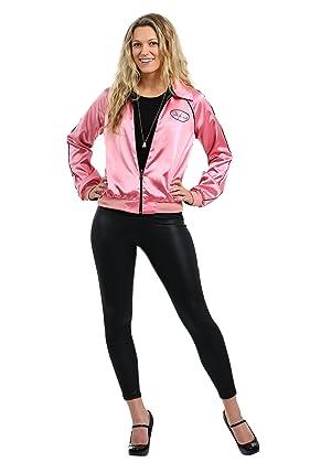 Fun Costumes womens Stephanie's Pink Ladies Jacket