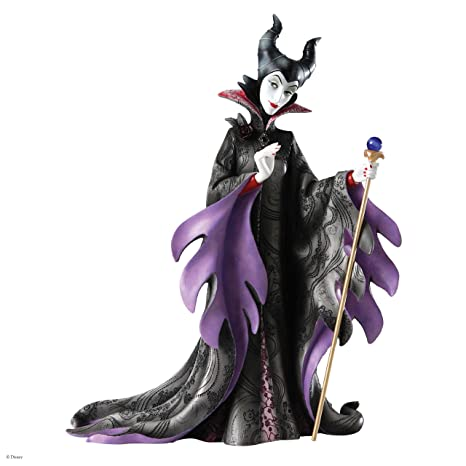 Enesco Disney Showcase Maleficent Couture de Force Princess Stone Resin  Figurine