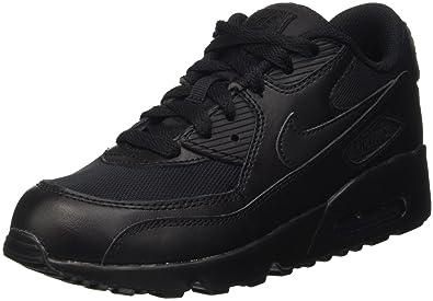 new arrival 1ea3c cda27 Nike Boys  Air Max 90 Mesh (PS) Trainers, Black (Black