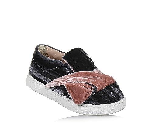 FLORENS - Mocasines para niña Gris Size: 22 EU: Amazon.es: Zapatos y complementos