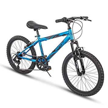 Amazon Com Huffy Kids Hardtail Mountain Bike For Boys Summit