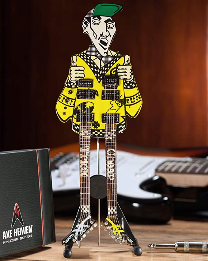 Rick Nielsen Uncle Dick – Mini guitarra réplica coleccionable ...