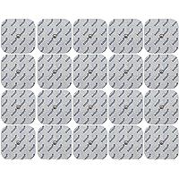 20 electrodos para COMPEX - 50x50mm - electroestimuladores