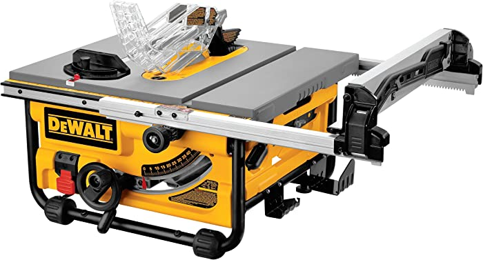 DEWALT DW745 10-Inch Table Saw, 20-Inch Rip Capacity